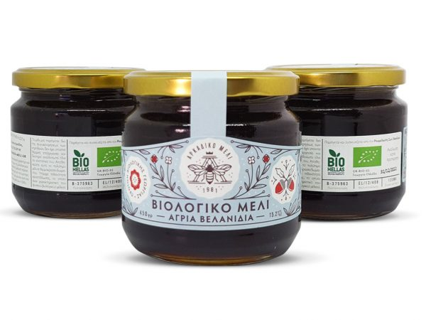 Βιολογικό Μέλι Βελανιδιάς